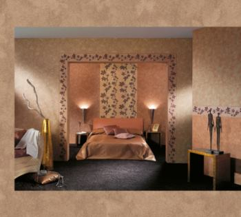 wandgestaltung tapeten spachteltechniken fugenlose beschichtungen malermeister krebs lehrte. Black Bedroom Furniture Sets. Home Design Ideas